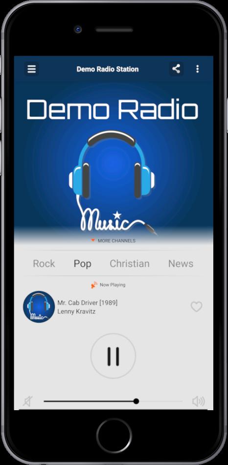 My Radio App - Mobile Radio Application Development